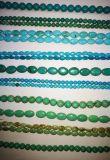 Cristal de Pedra Semi Precious Talblized Turquoise Bead Cordas Longas