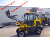 Everun 0.8 T Loading Compact Loader Er08 con Snow Bucket