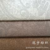 Tissu en nylon de velours côtelé gravé en relief par configuration pour le capitonnage