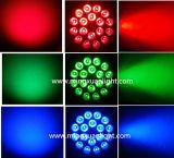 RGBW LED PAR 4en1 18X10W Luz