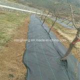 Tissu de paysage de barrière contre les mauvaises herbes PE / PP anti-vieillissement