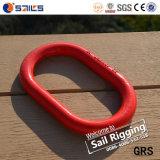 Legierter Stahl-Absinken der Abstecken-Befestigungsteil-roten Farben-G80 schmiedete Kettenkettenschloß