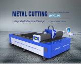 máquina de estaca Lm3015g do laser da fibra do metal 1000W com única tabela