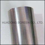 Perfil Wire Wrapped Screen Tube Filtro Roundness Cunha Wire Screen Filter Stainless Steel 316L