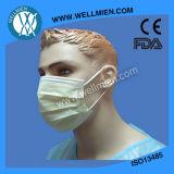 Máscara facial no tejido impreso