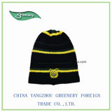 Sombrero promocional del Knit del negro del diseño de la manera nuevo
