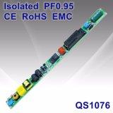 セリウムRoHS EMC QS1076が付いている12-23Wによって隔離されるPF0.95 LEDの管ライト電源