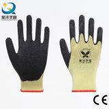 Перчатка безопасности большого пальца руки ладони латекса Coated польностью Coated