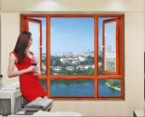 [هت ينسولأيشن] ألومنيوم قطاع جانبيّ نافذة مع زجاج مزدوجة ([إكس019])