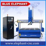 Ele-1530 Mittellinie CNC-Fräser der Geschwindigkeit-4 für das Holz 3D, das mit Cer, ISO9001, SGS, FDA schnitzt