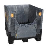 Caixa de pálete plástica dobrável da grande capacidade para a venda