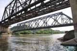 高品質のCustomedの耐久の鉄骨構造橋