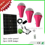 Solar Product 2017 Home 12V Solar Powered LED Lighting Kit Emergency Lamp for Africa