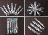 O hotel automático do toothbrush da eliminação fornece o equipamento da embalagem