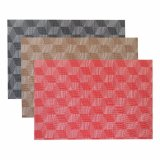 Isolação clássica matéria têxtil antiderrapagem Placemat tecido do Weave do jacquard para a HOME & o restaurante