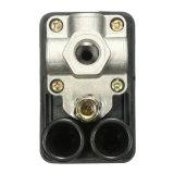 1/4 '' altas calidades determinadas resistentes portuarias de la llegada del interruptor de control de presión del compresor de aire 4 y del calibrador del valor nuevas