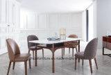 Расположите старинной французской ткани мягкой обеденный стул