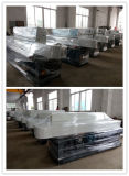 Steel Cover Striaght Line 9 Spindles Flat e 45 Degree Glass Edging Machine