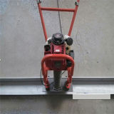 Dircurso concreto de /Concrete da régua da vibração da gasolina