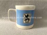 Caneca cerâmica do clube do futebol, caneca cerâmica personalizada