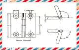 De Plastic Delen van scharnier 104/Vervaardiging