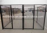 6X4X4FT im Freien geschweißtes Ineinander greifen-Hundehundehütten
