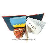 Livro de ligação espiral personalizado, impressão de brochuras (OEM-BP004)