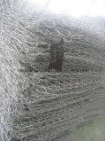高い亜鉛熱い浸されたGavalnized Gabionのバスケット