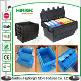 600*400*240mm Plastikbehälter-Kunststoffgehäuse-Kasten