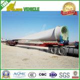 Ветра лезвия 16m-45m гидровлический Extendable Lowbed тележки трейлер Semi