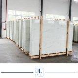 Coutertopまたは壁のタイルまたは平板のタイルのための純粋で白く黄色または青またはカラー静脈のNano結晶させたガラスパネル