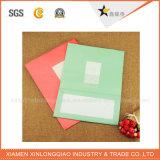 Sacchetti di acquisto di carta poco costosi su ordine pieghevoli riciclabili