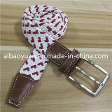 Fils de polyester double tressé de couleur de la courroie élastique