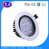 18W lampe de plafond anti-reflet LED avec puissance complète