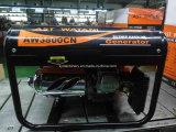 câblage cuivre d'engine de 2kw 6.5HP, générateur portatif d'essence de début de recul à vendre