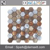 Mosaico de azulejos de pared de metal