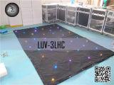 2 x 3 m Full Color Tri LED Star-gordijn