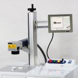 machine de marquage au laser à fibre pour l'Accessoire électrique avec la céramique
