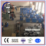 공장 판매 케이블 주름을 잡는 공구 10의 거푸집을%s 가진 유압 호스 주름 기계
