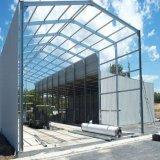 Hochwertige Typen Portalrahmen/hochwertiger Stahlkonstruktion-Aufbau