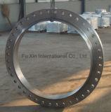Les tailles importantes ont modifié la bride de collet de soudure d'acier du carbone