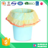 HDPE Multi Color Disposable Draw Tape Bolsas de lixo