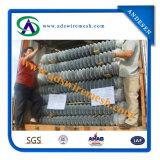 frontière de sécurité galvanisée à chaud de maillon de chaîne de 1.6mmx25X25mm