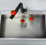 Il nero quadrato della parte girevole di figura ha rifinito il colpetto della cucina
