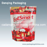 Alimento Packaging com Zipper, Strawberry Cake Packaging Bag (DQ159)