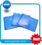 Cassa blu del raggio DVD di rettangolo del materiale 10mm dei pp