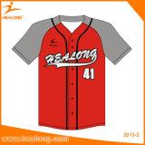 Healongのチーム摩耗のためのカスタム昇華野球ジャージー