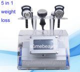 5 в 1 теле радиочастоты Mutipolar RF кавитации ультразвука 40k био Slimming машина красотки потери веса