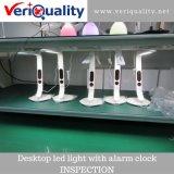 LEIDEN van de Desktop Licht met De Dienst van de Inspectie van de Kwaliteitsbeheersing Van de Wekker in Shenzhen