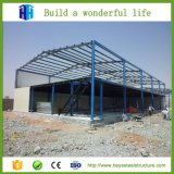 Planta de aço pré-fabricada do edifício da vertente dos quiosque e da construção de aço